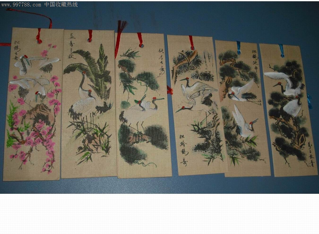 书签/书花,,,,,其他题材,年代不详,平面书签,产地不详,绢,长方形