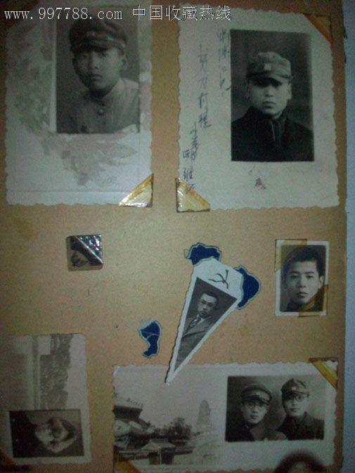 伪满时期青年学生照片1大本80张图片