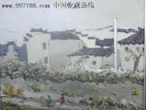 当代风景写生创作作品_价格元【枣庄油画作品】_第1张_中国收藏热线