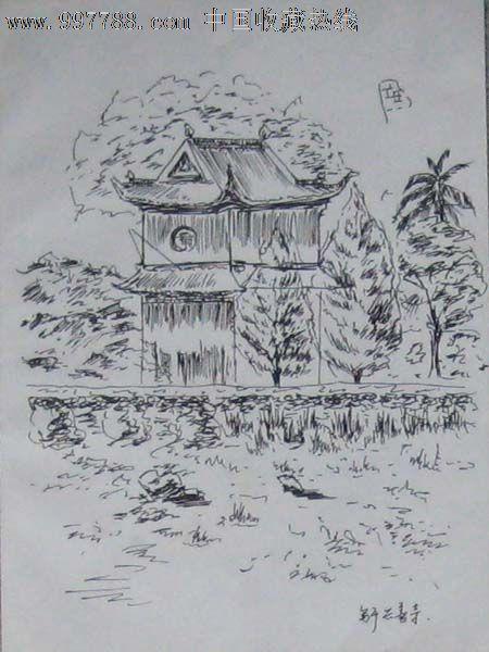 无款钢笔画——05