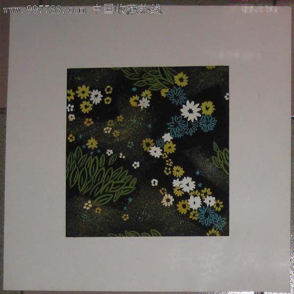 手绘装饰画——花卉03(水粉画)