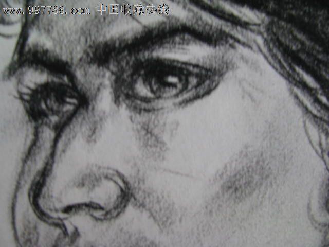 素描头像/少数民族女青年2