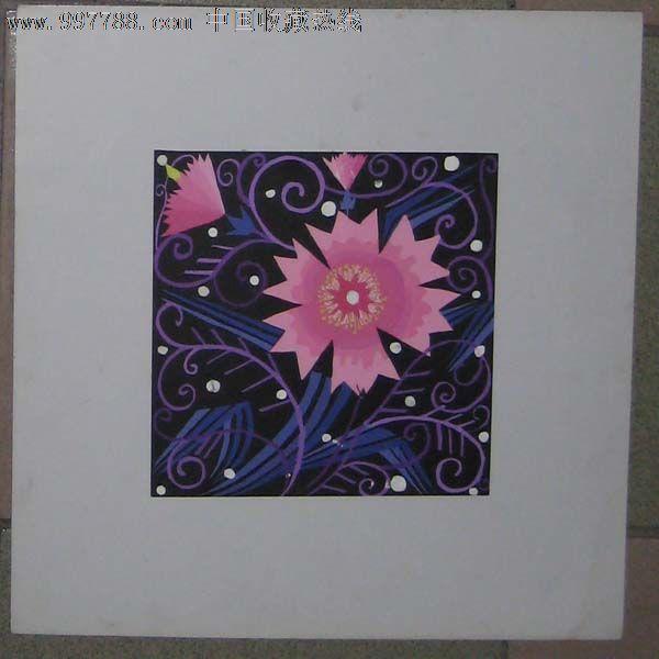 手绘装饰画——花卉11(水粉画)