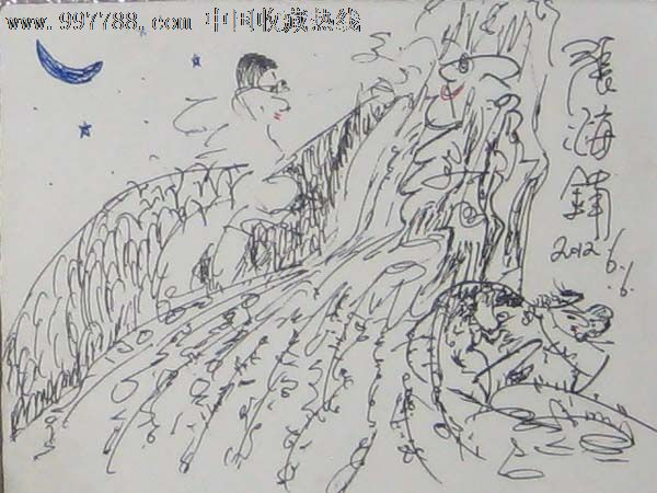 现代钢笔画原作——21
