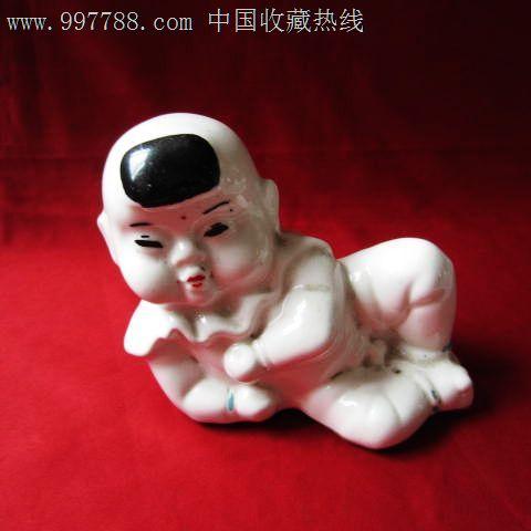 五十年代【可爱的瓷娃娃】储蓄罐