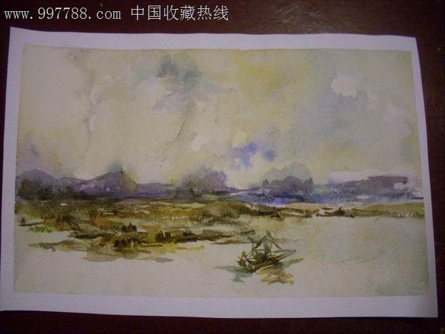 写生水彩风景_价格22元【青岛紫云轩】图片