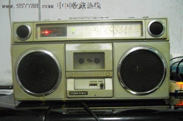 日本【康艺4啦叭收录机】