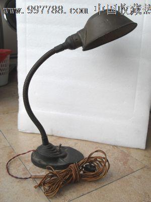 铸铁老台灯_价格300元【石湾窑的东西】图片
