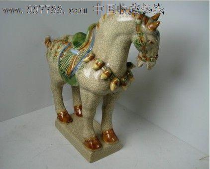 老工艺陶瓷彩马