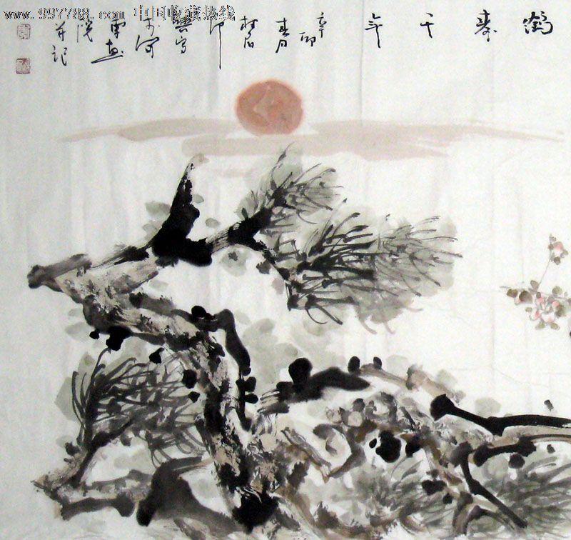 名家牡丹/花鸟图/国画/收藏送礼/装饰精品/21962图片