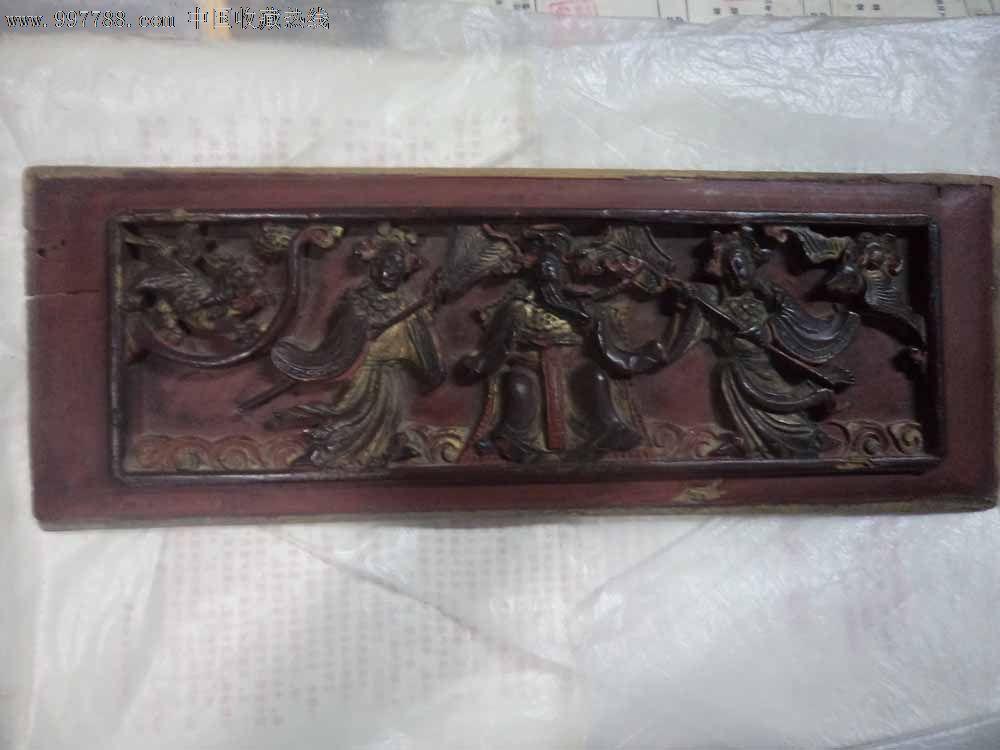 浮雕人物木板_价格600元