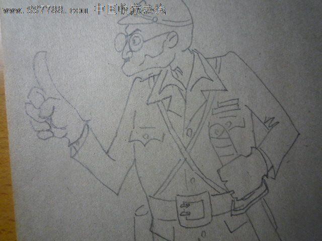 龟手绘简图