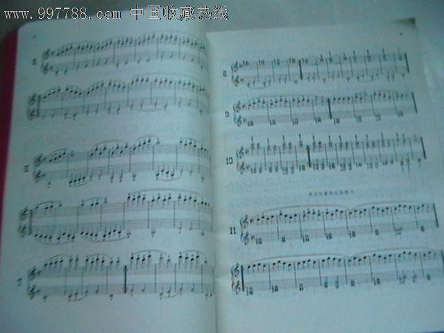 车尼尔钢琴初步教程作品599