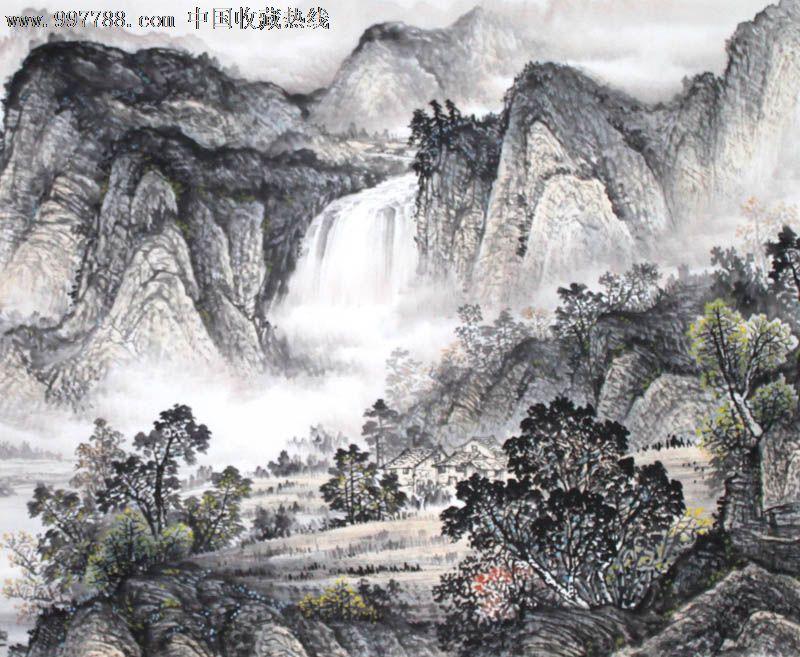 大洋乡琼峰村风景