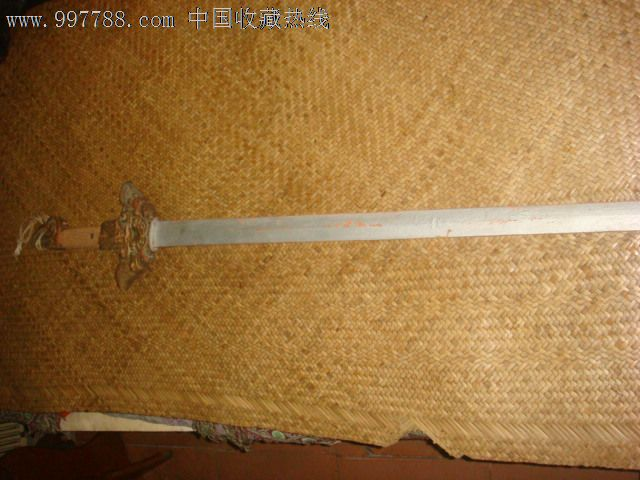 手工做木剑方法图解