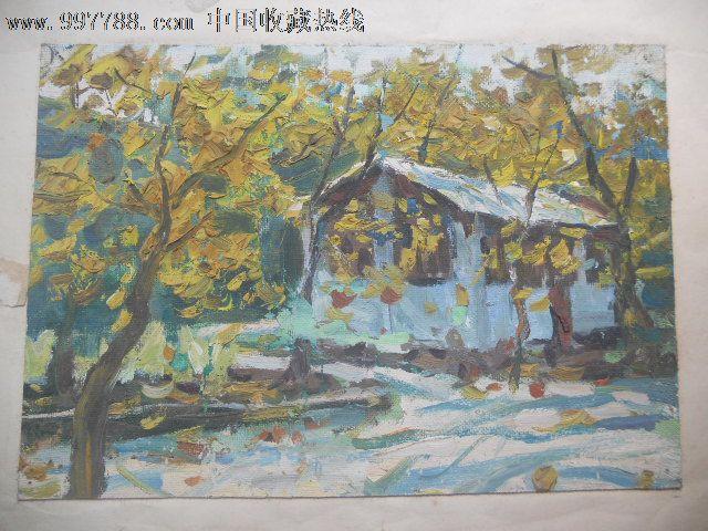 秋风落叶图片