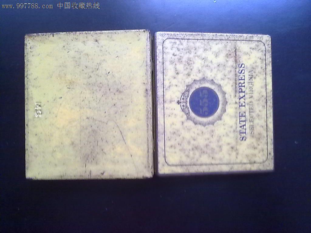 早期555牌香煙鐵盒