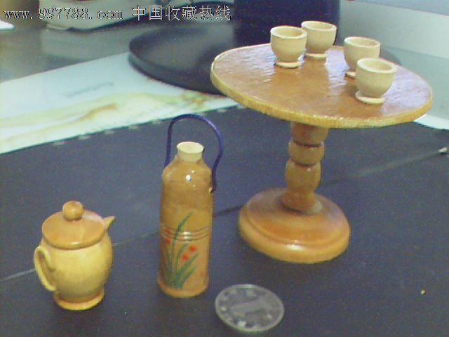 木质小摆件---桌子,壶等_价格8元_第1张_7788收藏__中国收藏热线