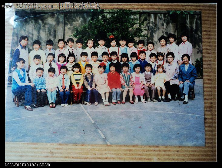 天真可爱的儿童1979年上海徐汇区某幼儿园活动照片集