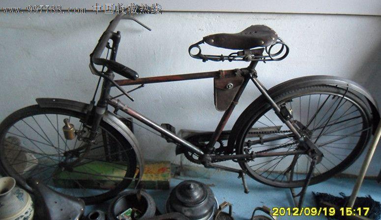老日本富士自行车图片