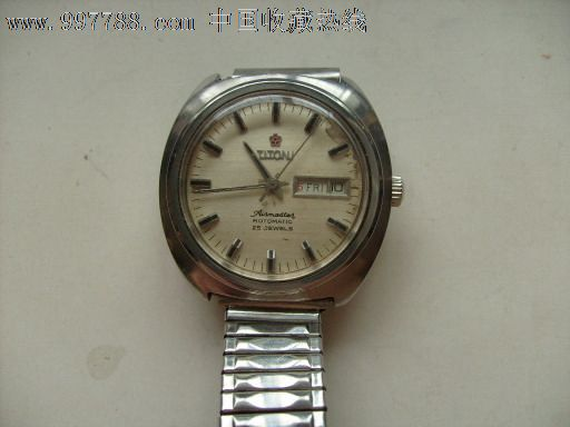 全钢梅花双历25钻男表,手表/腕表,机械,五十年代(20世纪),梅花,钢图片