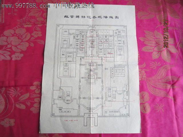 故宫博物院参观路线图,其他收藏品,文革期间(1