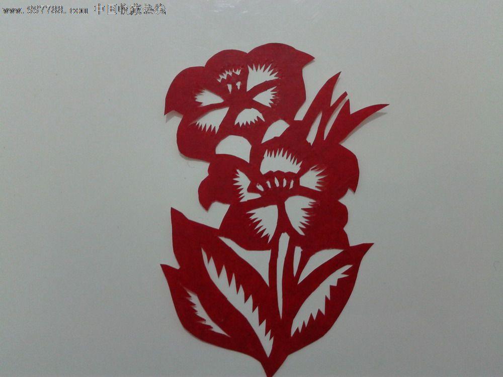 小花剪纸_价格3元_第1张