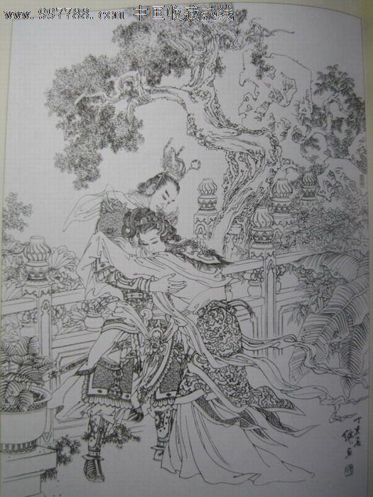 笔墨锦绣--项维仁;; 项维仁线描人物画选;