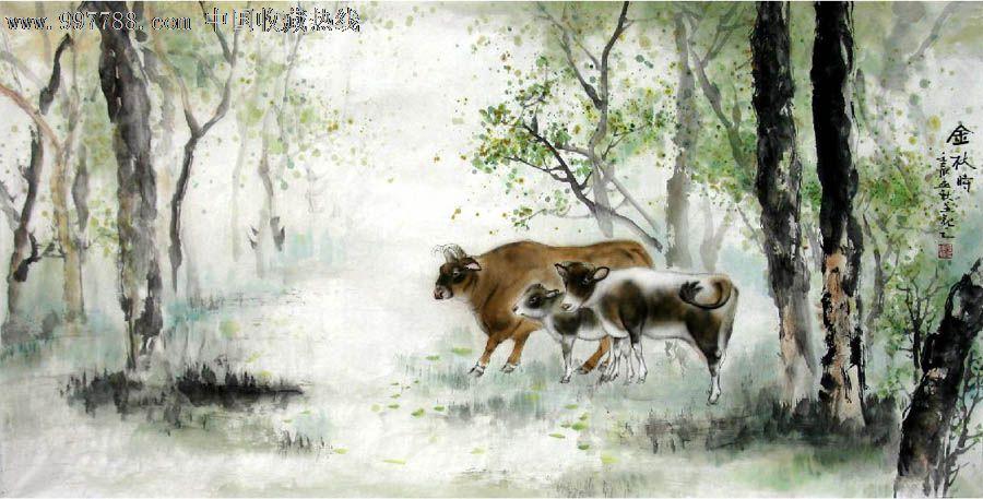 杜陈静·四尺工笔动物画_价格元_第1张_中国收藏热线