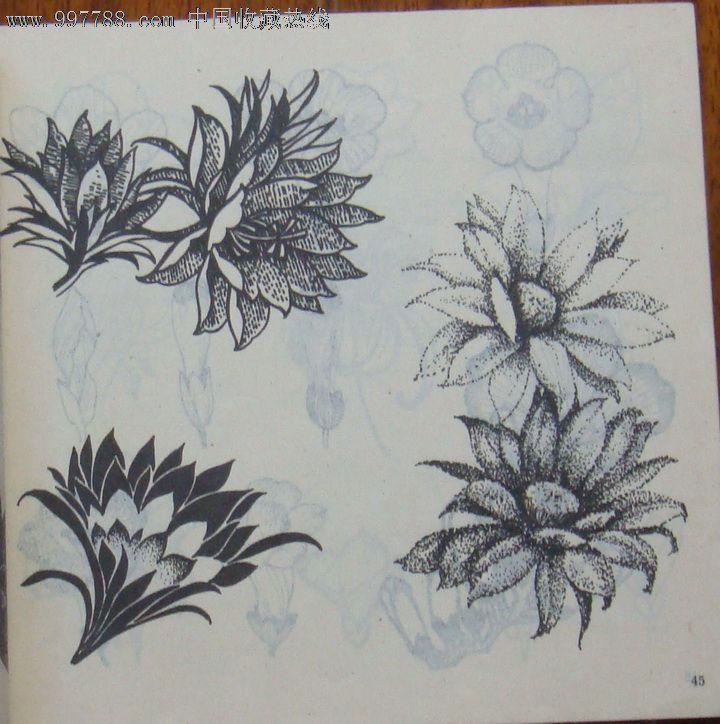花卉图案资料图片
