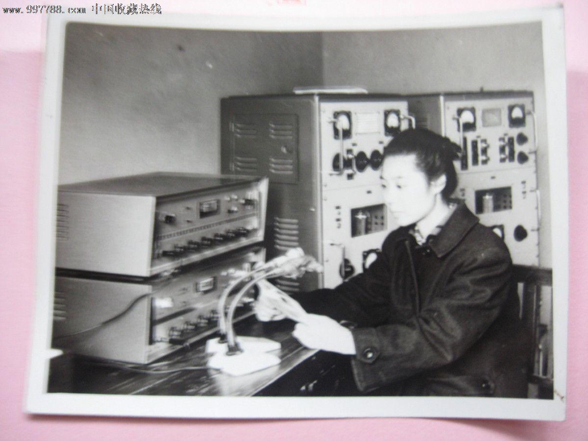 漳河厂漂亮的女播音员照片图片