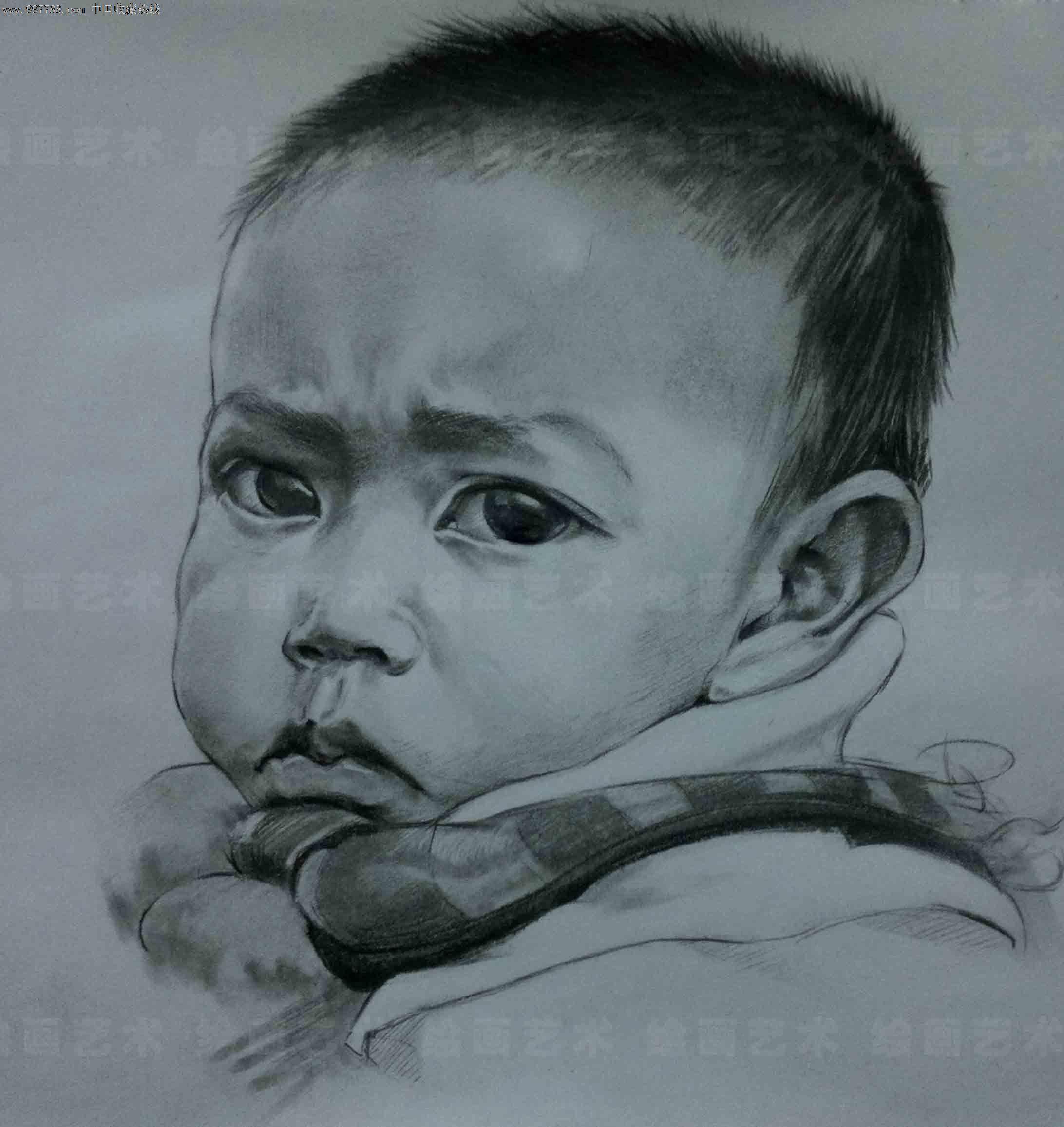 铅笔素描,彩铅画,色粉画,炭笔画,素描纸本手绘作品,依据您发来的高清