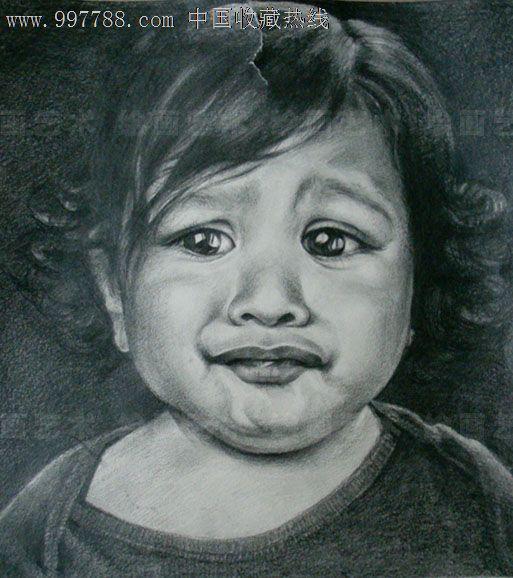素描肖像画定制素描代画