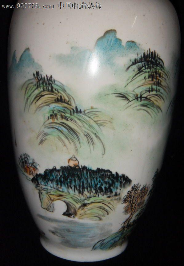 手工彩绘桂林山水图纪念瓶_价格元_第5张_7788收藏__中国收藏热线