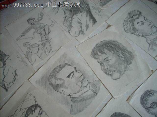 铅笔画原画人物1.24张