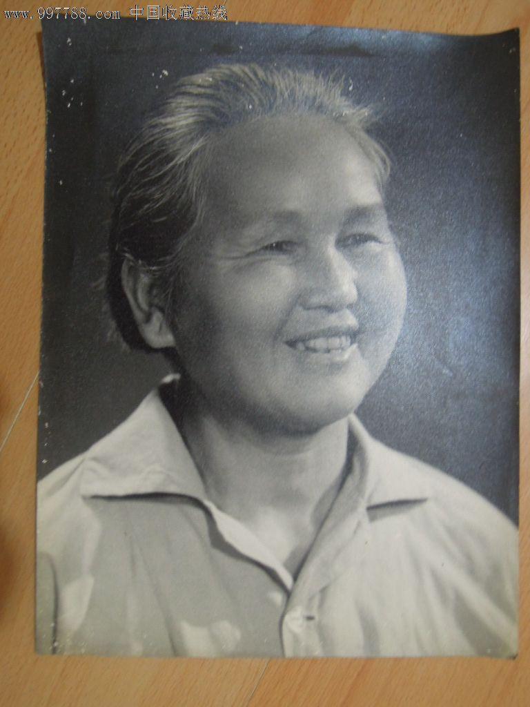 慈祥的老太太【大尺寸照片】,老照片-- 个人照
