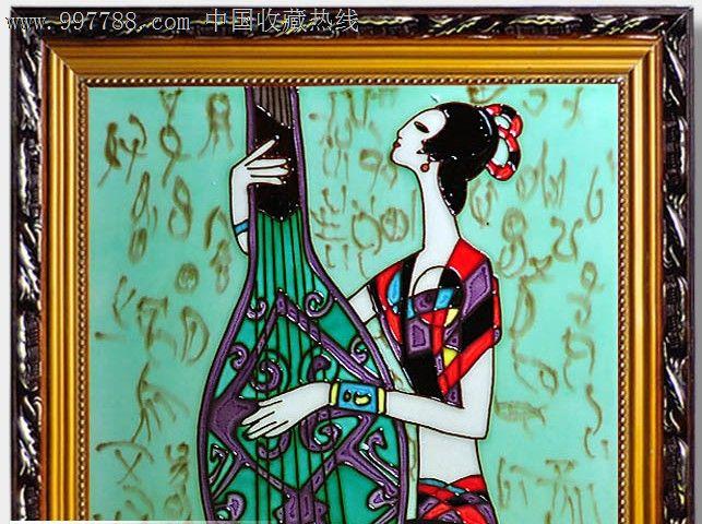 欧式陶瓷瓷板画-人物类---景德镇优质一级陶瓷雕刻陶瓷1300度高温陶瓷带框尺寸:37.5cmX37.5cm,不带框尺寸:30X30cm,瓷板厚度1cm彩色陶瓷瓷板欧式风格,适合卧室、客厅、厨房、卫生间墙面装饰