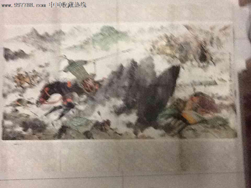 著名画家颜梅华画十面埋伏教学张_三大漫画_夸张名人挂图图片