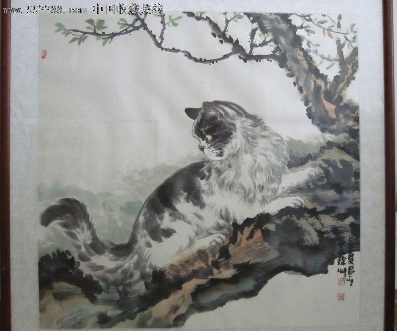 水墨猫的画法步骤