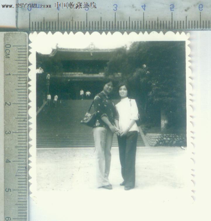 八十年代两价格-美女:2元-se15318939-老照片西塘美女古镇摄影作品图片