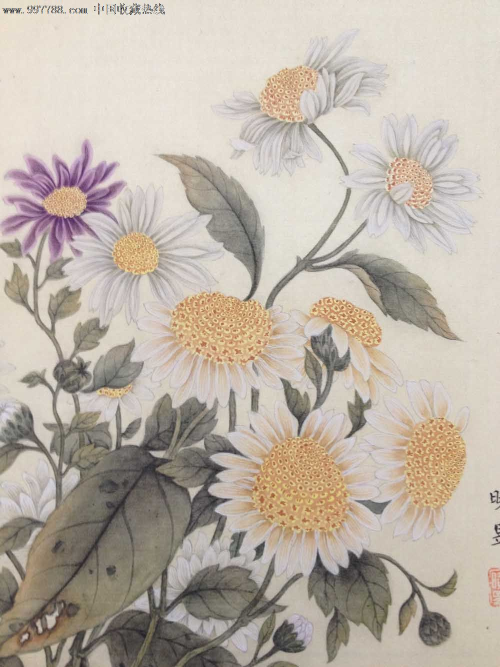 马晓昱工笔画-花卉2_价格元