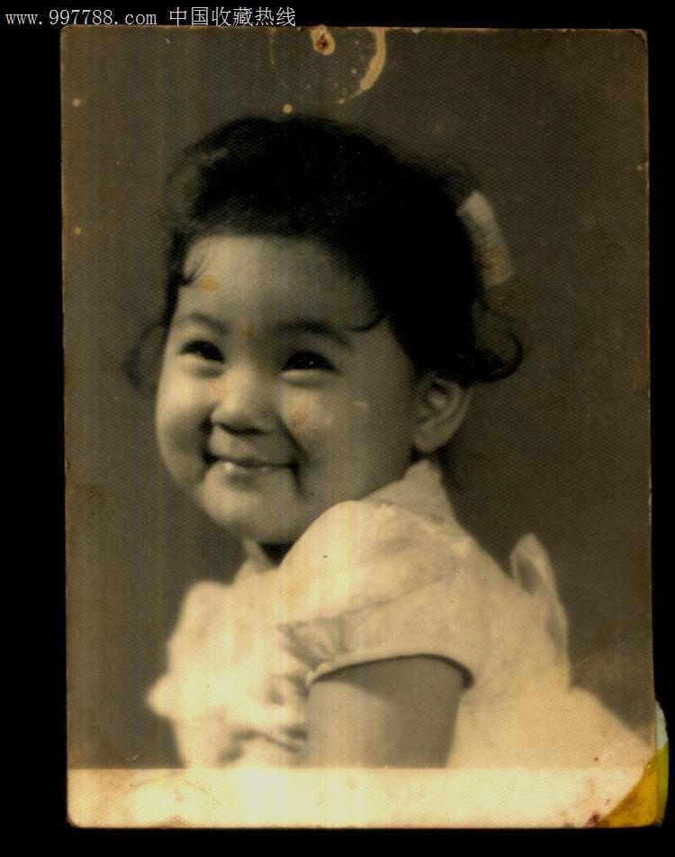 可爱儿童老照片--7厘米*5.5厘米