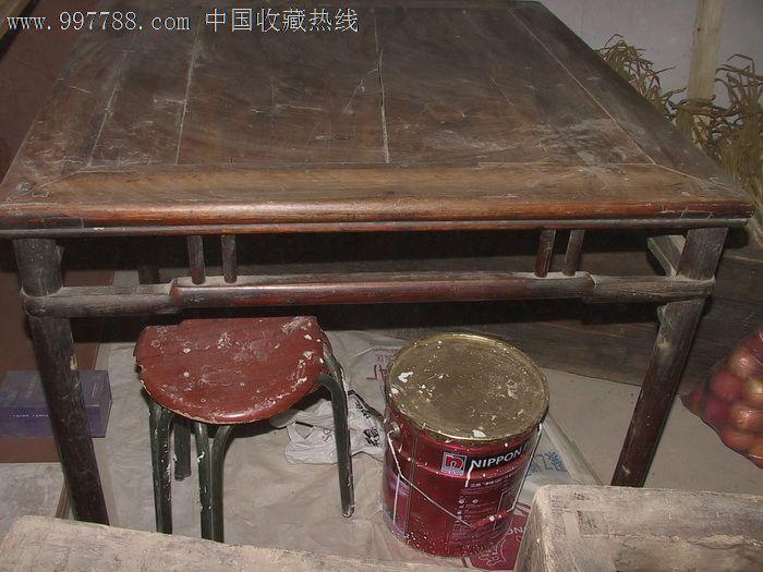 民国老木制大方桌(非常少见)