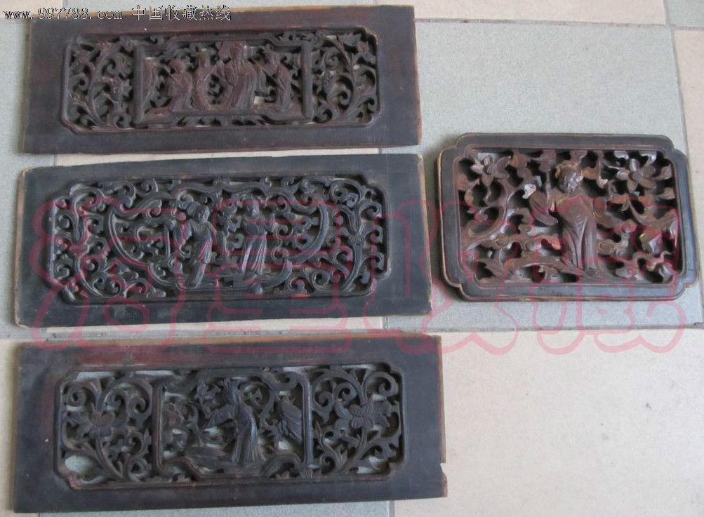 清朝雕花木板图片
