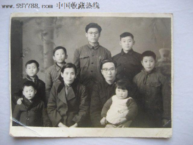 五.六十年代全家福-价格:16元-se15927711-老照片图片
