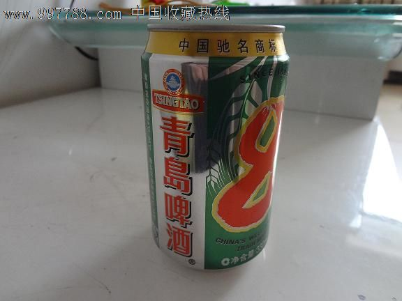 青岛啤酒r8°易拉罐