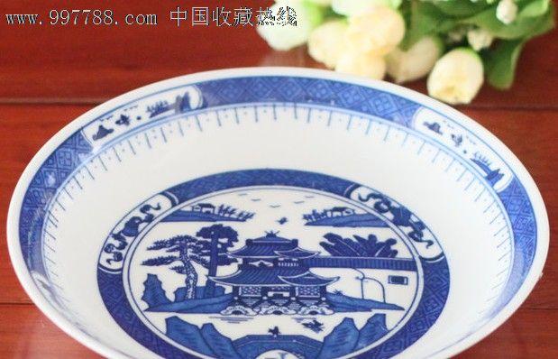 青花瓷餐盘图片简易画 - 胜沪新闻网