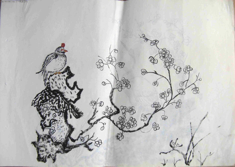 画中国龙的步骤图铅笔