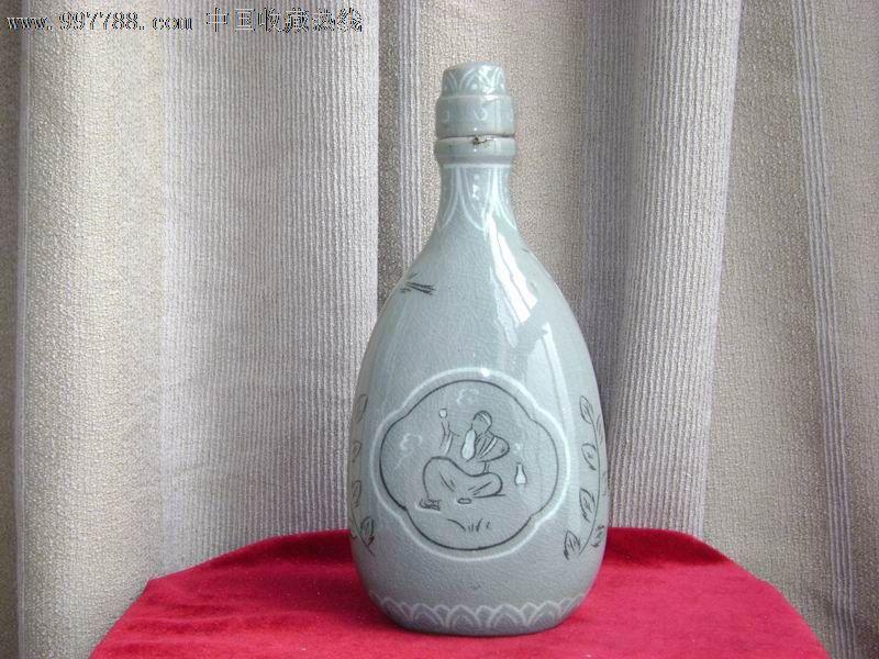 韩国手绘酒瓶