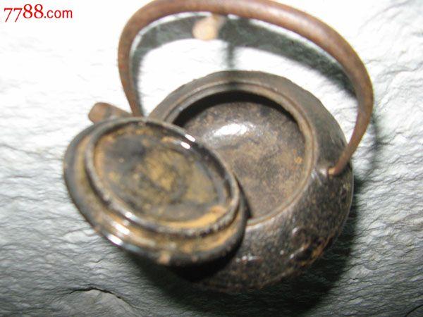 花纹铁壶铁茶壶